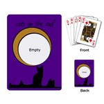 Cats on the roof -  CARDS - Playing Cards Single Design