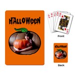 Halloween -  CARDS - Playing Cards Single Design