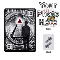Conspiracy 2 By Justin Calvert   Playing Cards 54 Designs   Dhcz9nr4kc93   Www Artscow Com Front - Heart5
