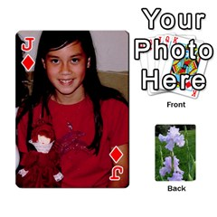 Jack Gee Cards1 By Elle   Playing Cards 54 Designs   Wzmny1s0b7on   Www Artscow Com Front - DiamondJ