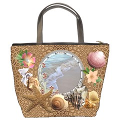 Sea Shell Bucket Bag By Lil    Bucket Bag   7jts1j38mtvb   Www Artscow Com Back