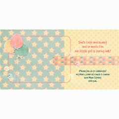 4x8 Birthday Photo Card By Mikki   4  X 8  Photo Cards   06934q3ryjk1   Www Artscow Com 8 x4 Photo Card - 6