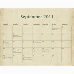 2011 Calendar By Barb Hensley   Wall Calendar 11  X 8 5  (12 Months)   Zgkhex7ioaen   Www Artscow Com Sep 2011