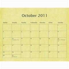 2011 Calendar By Barb Hensley   Wall Calendar 11  X 8 5  (12 Months)   Zgkhex7ioaen   Www Artscow Com Oct 2011