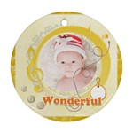 wonderful - Ornament (Round)