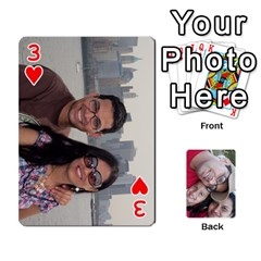 Newyork Trip By Jitesh Kumar   Playing Cards 54 Designs   3uqoer5z6dgl   Www Artscow Com Front - Heart3