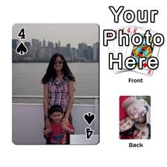 Newyork Trip By Jitesh Kumar   Playing Cards 54 Designs   3uqoer5z6dgl   Www Artscow Com Front - Spade4
