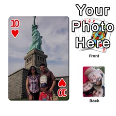 Newyork Trip By Jitesh Kumar   Playing Cards 54 Designs   3uqoer5z6dgl   Www Artscow Com Front - Heart10