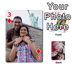 Newyork Trip By Jitesh Kumar   Playing Cards 54 Designs   3uqoer5z6dgl   Www Artscow Com Front - Diamond3