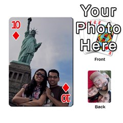 Newyork Trip By Jitesh Kumar   Playing Cards 54 Designs   3uqoer5z6dgl   Www Artscow Com Front - Diamond10