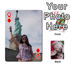 Queen Newyork Trip By Jitesh Kumar   Playing Cards 54 Designs   3uqoer5z6dgl   Www Artscow Com Front - DiamondQ