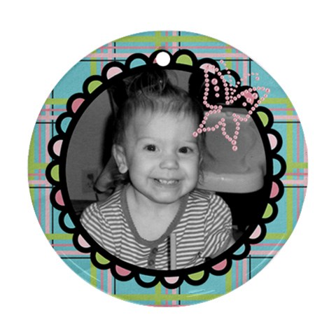Photo Ornament 5 By Martha Meier   Ornament (round)   Lrtbsjh3o1dt   Www Artscow Com Front