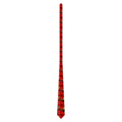 Plain Tiled Tie Black Background By Jen   Necktie (two Side)   Fcgdnu3f11gw   Www Artscow Com Front