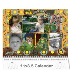 2011 By Melody Owen   Wall Calendar 11  X 8 5  (12 Months)   M2st9xbzmb2j   Www Artscow Com Cover