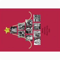 Picture Tree Card With Bling By Martha Meier   5  X 7  Photo Cards   Dbvno77l9zh2   Www Artscow Com 7 x5 Photo Card - 8
