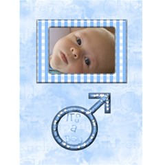 Baby Card By Joan T   Greeting Card 4 5  X 6    C1x7ifjh51xz   Www Artscow Com Front Cover