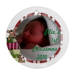ellie - Ornament (Round)