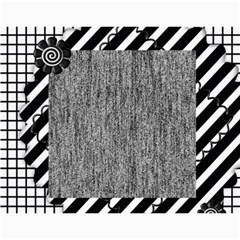 2013 Calendar 12 Mos Black & White By Angel   Wall Calendar 11  X 8 5  (12 Months)   5q5nh0iw012l   Www Artscow Com Month