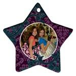 Hannah christmas ord - Ornament (Star)