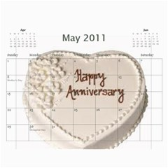 Gamp Final By Sarithagampa   Wall Calendar 11  X 8 5  (12 Months)   Mmkt887f016k   Www Artscow Com May 2011