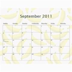 Gamp Final By Sarithagampa   Wall Calendar 11  X 8 5  (12 Months)   Mmkt887f016k   Www Artscow Com Sep 2011