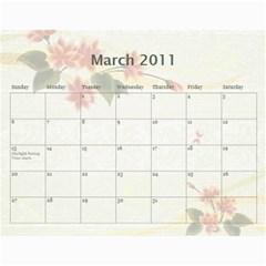Gamp Final By Sarithagampa   Wall Calendar 11  X 8 5  (12 Months)   Mmkt887f016k   Www Artscow Com Mar 2011