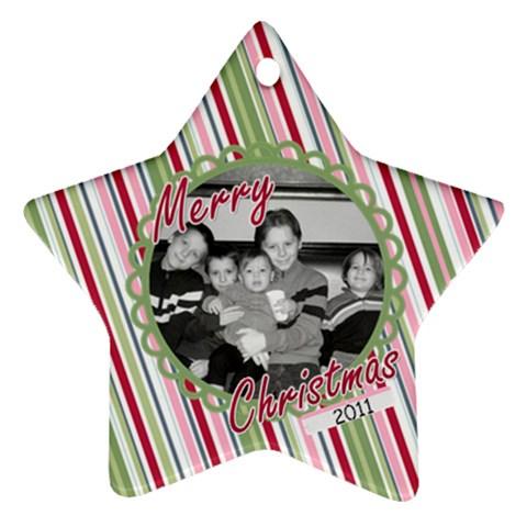 Star Ornament 2 By Martha Meier   Ornament (star)   5ibr9u364lpo   Www Artscow Com Front