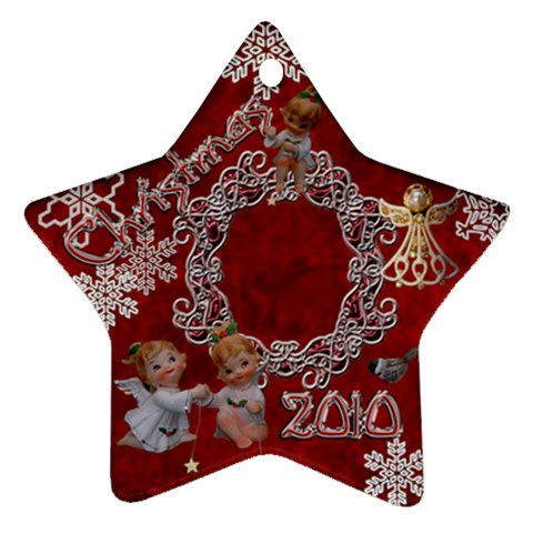 Angels 2010 Ornament 33 By Ellan   Ornament (star)   Nv7z8ts9nfx5   Www Artscow Com Front