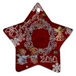 angels 2010 ornament 33 - Ornament (Star)