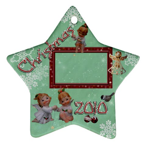 Angels 2010 Ornament 38 By Ellan   Ornament (star)   C8ju0v7mlfbn   Www Artscow Com Front