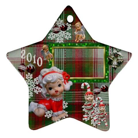 Angels 2010 Ornament 49 By Ellan   Ornament (star)   Uwtmnigt58wn   Www Artscow Com Front