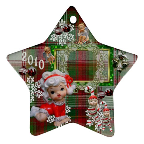 Angels 2010 Ornament 50 By Ellan   Ornament (star)   5nmpcrs0900s   Www Artscow Com Front