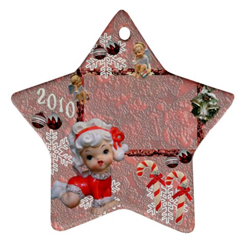 Angels 2010 Ornament 51 By Ellan   Ornament (star)   Qjpxymyk0xzz   Www Artscow Com Front