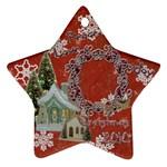 village peace love joy 2010 ornament 68 - Ornament (Star)