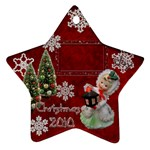 lantern girl 2010 ornament 89 - Ornament (Star)