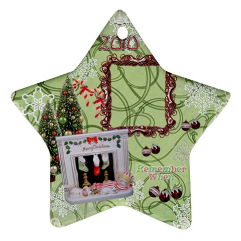 Sleepy Boy 2010 Ornament 109 By Ellan   Ornament (star)   2q8189dhtq6y   Www Artscow Com Front