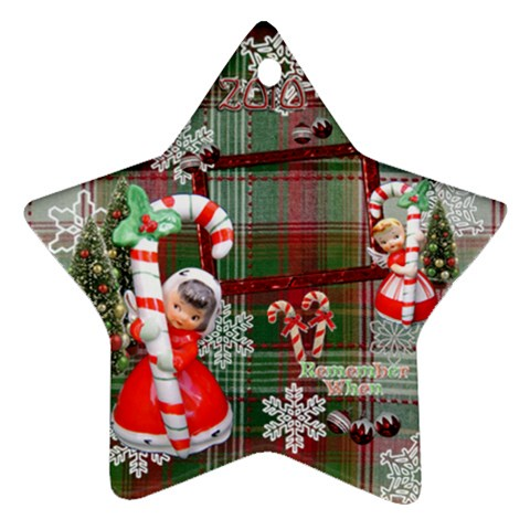 Angel Candy Cane 2010 Ornament 117 By Ellan   Ornament (star)   H394g4m709ls   Www Artscow Com Front