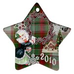 thank you mail 2010 ornament  125 - Ornament (Star)