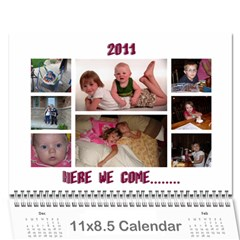 2011 By Renee   Wall Calendar 11  X 8 5  (12 Months)   Swppj0avnbmq   Www Artscow Com Cover