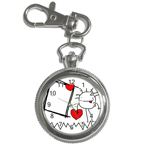Garabatos Key Chain Watch 02 By Carol   Key Chain Watch   Edqjge3u3bo9   Www Artscow Com Front