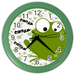 Animaland clock 02 - Color Wall Clock