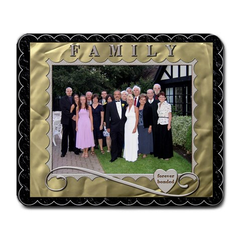 Family Large Mousepad By Lil    Large Mousepad   Aq5kxd9w24ns   Www Artscow Com Front