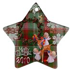 Angels reindeer remember when 2010 ornament 154 - Ornament (Star)
