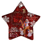 Angels reindeer remember when 2010 ornament 156 - Ornament (Star)