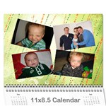 Farr Cal 2010 18mo - Wall Calendar 11  x 8.5  (12-Months)