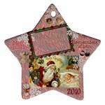santa remember when 2010 ornament 176 - Ornament (Star)