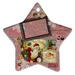 santa remember when 2010 ornament 177 - Ornament (Star)