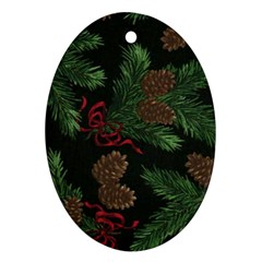 Christmas     Ornament By Carmensita   Oval Ornament (two Sides)   Zoyn4ht920ih   Www Artscow Com Back