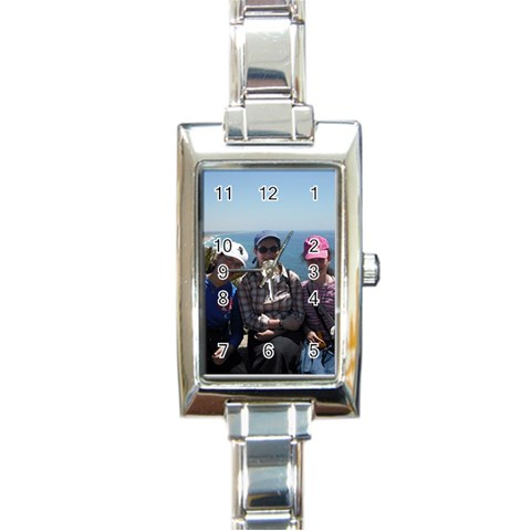 By Esty   Rectangle Italian Charm Watch   Uh3pze3lk8t3   Www Artscow Com Front