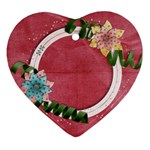Flowers ornament - Ornament (Heart)